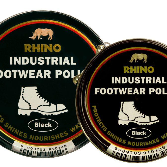 Rhino Indust Footwear Polish Range