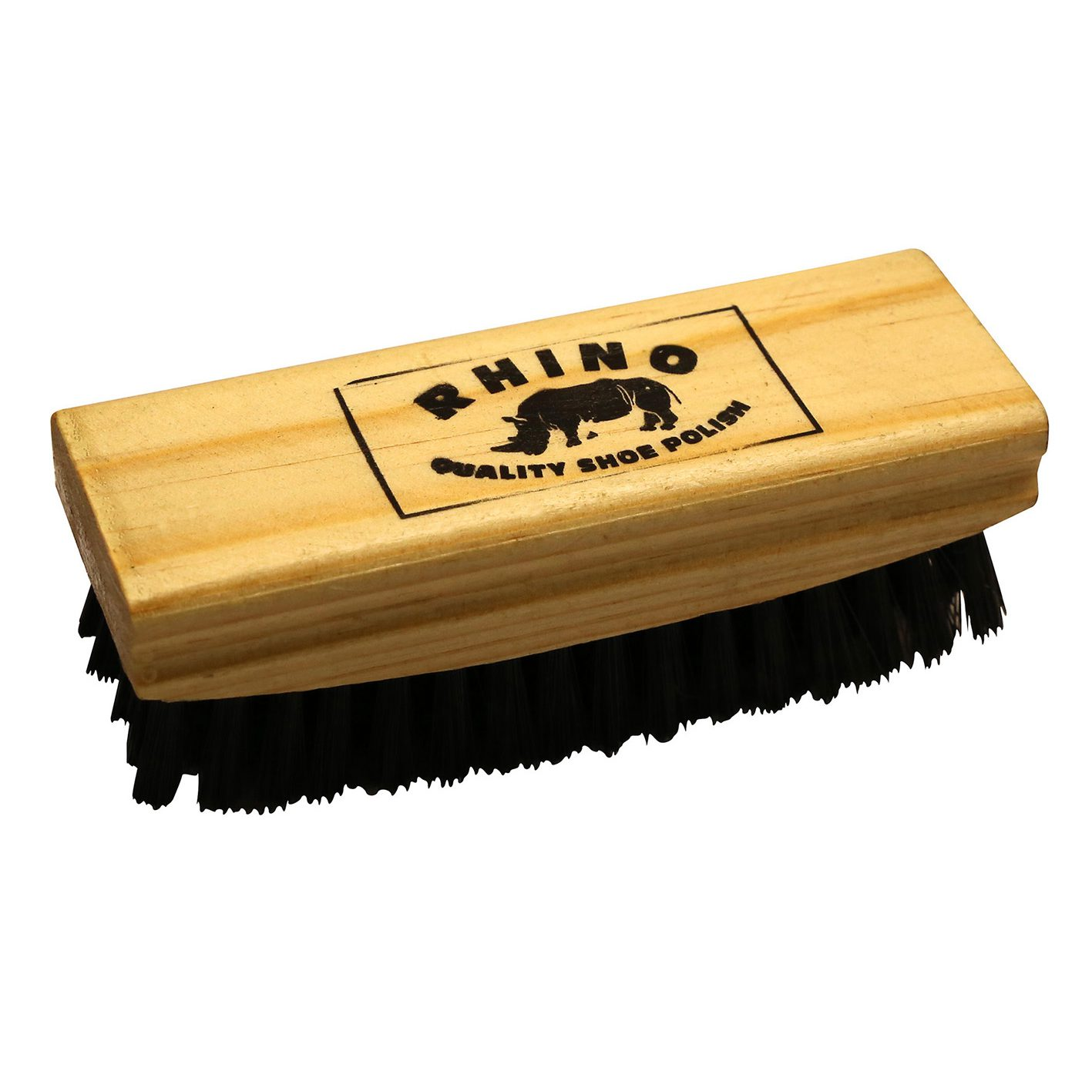 Rhino Shoe Brush White
