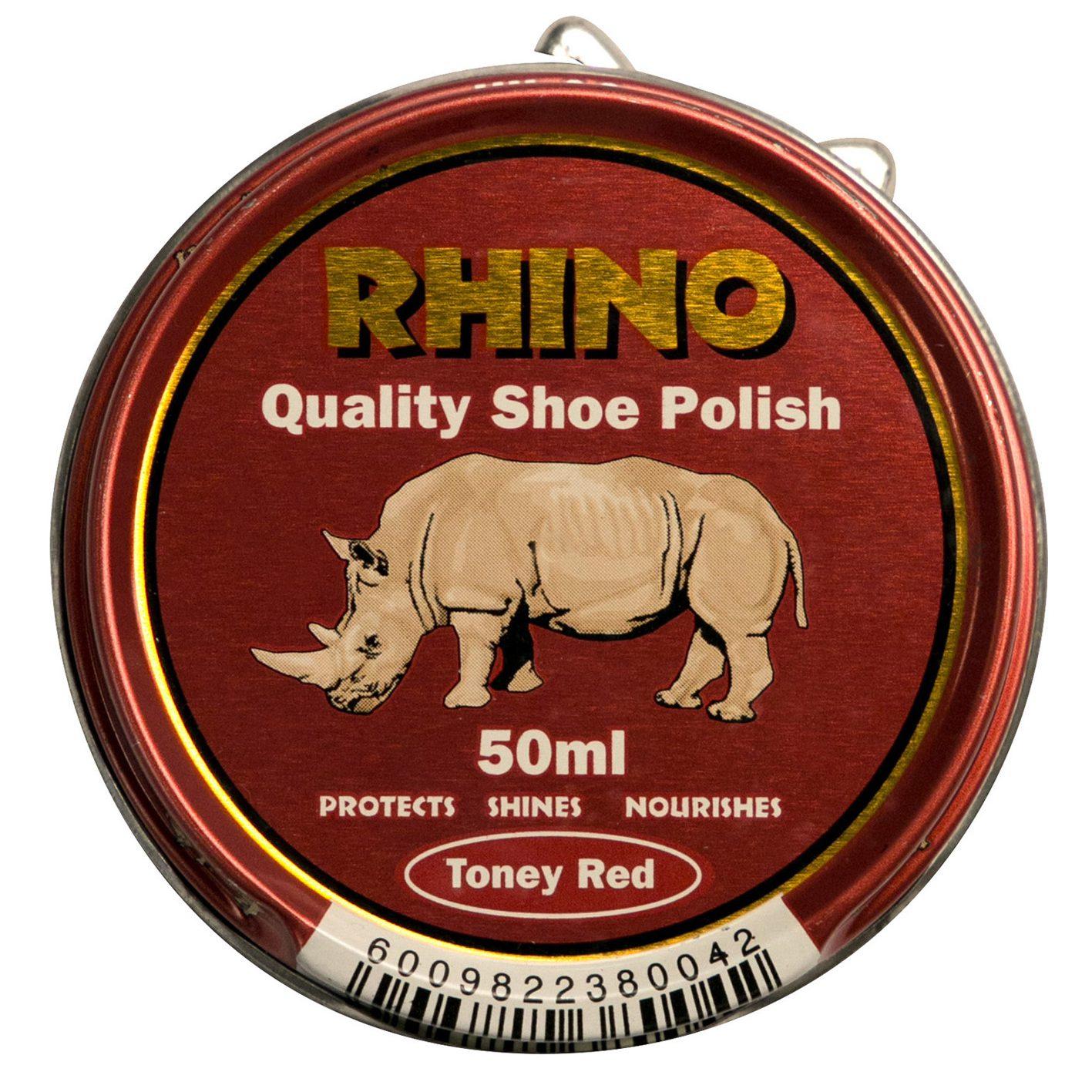 Rhino Shoe Polish Toney Red 50ml