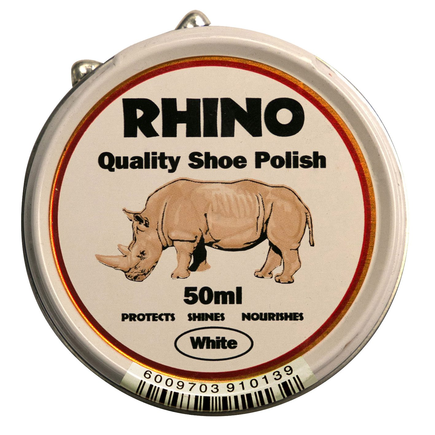 Rhino Shoe Polish White 50ml