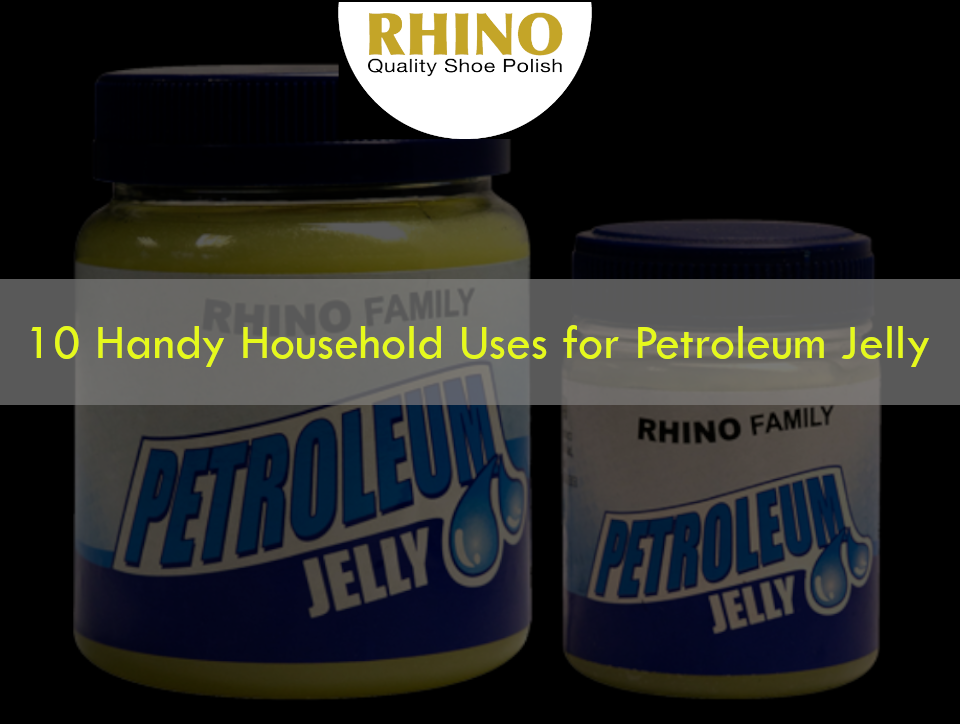 2 Rhino petroleum jelly jars